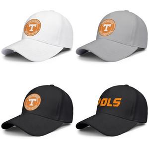 Tennessee Gönüllüler futbol logosu siyah erkek ve kadınlar beyzbol şapkası tasarım özel Kendi takımını iyi orijinal şapkalar Round tasarım çıkışı teslimat