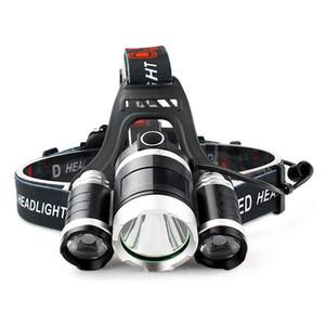 T6 Único Faróis LED Mineiros Lâmpada Tipo de Carregamento Farol Zoom Escurecimento Forte Luz de Longo Alcance Ao Ar Livre 15 9rcG1