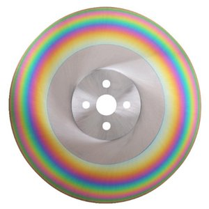 disco di taglio sega circolare 10 pollici HSS 275 * 1,2 millimetri   275 * 1,6 millimetri   275 * 2,0 millimetri HSS-DM05 taglierina sega alluminio ferro rame di taglio del tubo arcobaleno