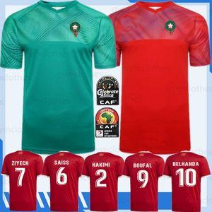 2020 التايلاندية الأوروبي المغرب لكرة القدم بالقميص ZIYECH BOUTAIB مايوه دي القدم 19 / 20Camiseta قميص دي فوتبول بوصوفة EL AHMADI كرة القدم