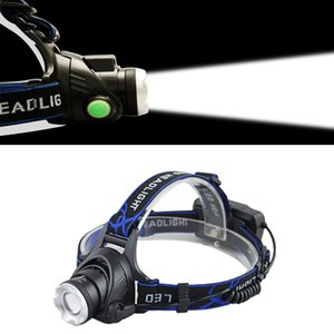 Super Bright 3 CREE XML T6 Q5 lighting 18650 Rechargeable Waterproof Camping Hunting Headlamp Headlight Head Torch Lamp
