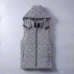 Mens Parka chaleco Coats Hoode Luminou impermeable para mujer para hombre Marca de abrigo rompevientos de lujo chaquetas con capucha chaleco