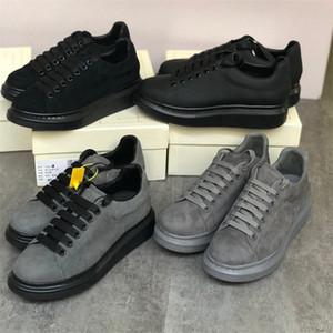 Top qualité Hommes Femmes Mode Plate-forme Sneaker surdimensionnées 100% vrais hommes en cuir Chaussures à lacets Courir Baskets homme Chaussures de mariage