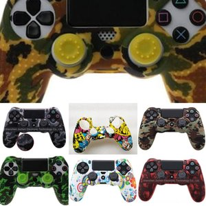 aThqY Cover Analog Controller Joystick For Grip Cap TPU Case Thumb Grips Thumbstick Play Station 4 PS4FEDEX EMSSHIPPING