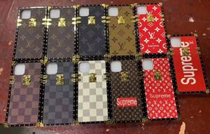Haut de couverture de téléphone coller la peau couleurs marque de dix cas pour l'iPhone 6 6s 7 8 8plus pour iphone x xr xs max pour iPhone 11 11 pro 11 pro max A01