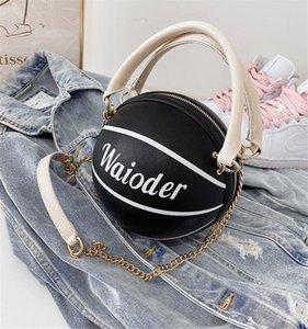 Высокого качество Женщина баскетбол мешки плеча черного металл цепь сумка Tote кожа Pure Black сумка сумка сумка # 85443