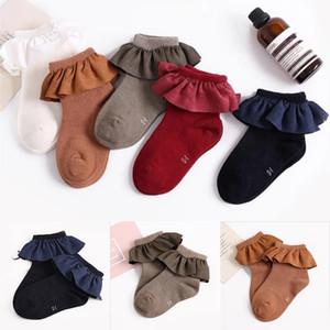 CANIS горячие младенческие дети девочка носки новорожденных девочек носок Bebe лодыжки 100% хлопок цветок Носки 2-8Y милые дети