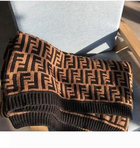 la marca de lujo de diseño clásico de espesor señalización punto F lecho manta manta caliente del interior al aire libre chal creativa de Navidad de la familia manta de regalo