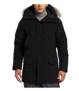 2019 Canada di marca inverno progettista di spedizione degli uomini d'oca spessore degli uomini esterni di Down Ducky 90% caldo cappotto imbottito lungo piumino Canada