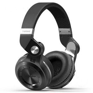 Bluedio T2 + 5.0 블루투스 헤드폰 koptelefoon 스테레오 음악은 아이폰, 삼성 샤오 미 헤드폰을위한 무선 헤드셋을 auriculares