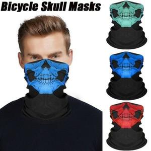 Skull neoprene collo di inverno fronte caldo Maschera Velo Sport Motociclismo sci bici biker fascia traspirante antipolvere