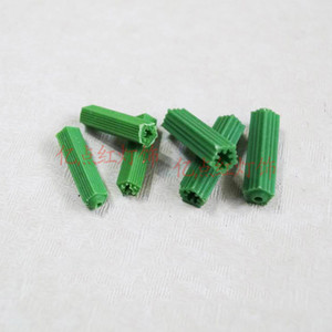 6mm 8mm Green Rubber Stopper Home Improvement Plastic Material LED Lighting Accessories for Lamp Installation Wire Box Fixing