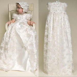 2020 Beach Flower Girl Dresses Jewel Neck Lace Boho First Communion Dress For Little Girl High Low A-Line Kids Wedding Dress