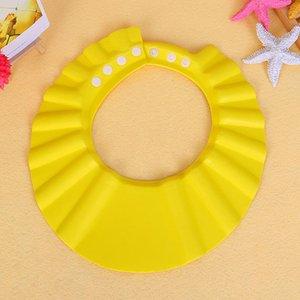 Bebek Ayarlanabilir Duş başlığı EVA bebek sağlığı banyo çocuk çocuklar çocuklar Yıkama Saç Shield Toplu Şapka LJJA3304-2 saçları için korumak