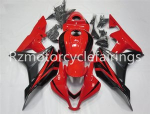 Hot sales Injection molding New ABS Motorcycle Full Fairing Kit Fit For CBR600RR F5 2007 2008 Bodywork set Free custom Black Red