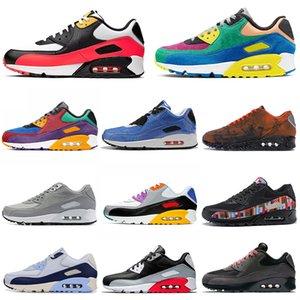 90 zapatillas de deporte para hombres mujeres ser verdad Viotech jalea láser fucsia Mixtape aterrizaje en Marte de infrarrojos para hombre entrenadores deportivos zapatillas de deporte 36-45