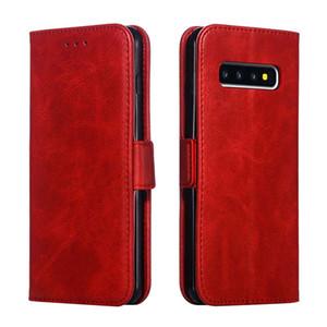 motif veau PU cuir carte couverture Machines à sous Porte-monnaie Téléphone Case pour iPhone Pour Samsung huawei S10 A20E A30 A70 J2 J5 J7
