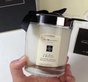 2020 Hot Sale Jo Malone Londres Crazy Christmas Candle Fragrance 200g de alta qualidade Velas Incenso na caixa de presente grátis recém-chegados