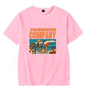 Luva WAMNI Moda respirável Popular design criativo do t-shirt curtos High Street Streetwear Top Y200104