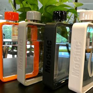 A5 Flat бутылки воды на заказ Мужской Портативный бумажный стаканчик корейской версии The Creative Plastic Water Bottle Ladies Cup Ins Горячие T200525 Продажа
