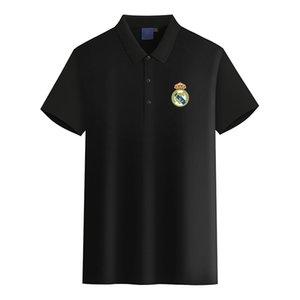 Sevilla FC 2020 kısa kollu erkek iş spor gündelik yaz yeni polo gömlek büyük boy DIY moda erkek polo olabilir