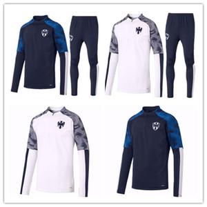 19 20 몬테레이 운동복 축구 자켓 D.PABON R.FUNES MORI 축구 셔츠 2019 2020 몬테레이 훈련 정장 크기 축구 자켓 소년을 착용