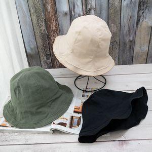 Fisherman Hat Womens Korean-Style Fashionable All-match Japanese Summer Thin Small Fresh Ruffled Beige Cotton and Linen Sun Hat Basin Cap