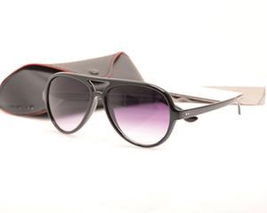 Высокое Качество Классические Мужские солнцезащитные очки 4125 Женские солнцезащитные очки Модный Бренд Дизайнер солнцезащитные очки Рэй очки новые очки прибытия с Case Box