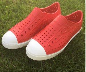 Women Native Jefferson Shoes Sandals 2017 Fashion Lovers Hole Shoe Brand Flat Casual Native Summer Shoes size 35-44 cs022