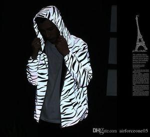 M3 Reflect Giacca Uomo Primavera Autunno Windbreaker Zipper Designer Giacche Windruner Coat