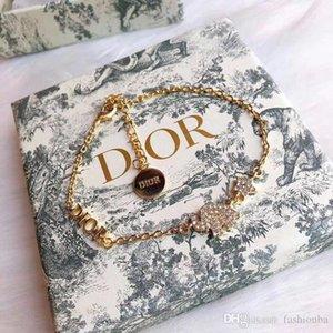 Donne Del Progettista Dei Monili di lusso Elephant Bracciali Donna Coper argento pendenti e ciondoli Braccialetto Gioielli amante regalo con la scatola