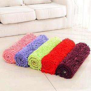 Cheap 10 Colors Bath Mat For Kitchen Toliet Super Soft Non-Slip Bathroom Carpet Absorbent 40*60 cm Bath Rug Bedroom Rug Rectangle Carpet