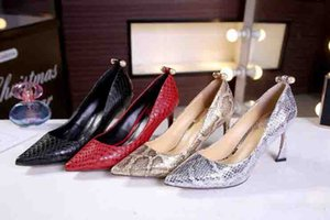 Fashion T Show Ladies Summer Party Dress Wedding Shoes Pearl Pointed Toes High Heels Shoes New Style Slip-on Pumps