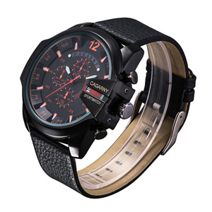 Cagarny Army Military Watches Men's Quartz Watch Men Leather Watchband Sports Wristwatches Relogio Masculino Casual Reloj Hombre New cheap