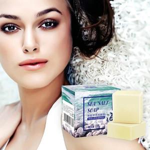 100g Entfernen Pickel Pore Akne-Behandlung Meersalz, Seife Ziegenmilch Handgemachte Seife Gesichtspflege Wash Basis Seife