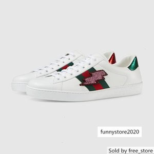 433738 Ace embroidered sneaker Loafers Drivers Espadrilles Flats RUNNING Sneakers SPORTS shoes