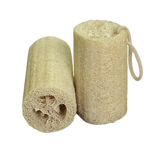 Natural Loofah Luffa Bath Supplies Environmental Protection Product Clean Exfoliate Rub Back Loofah Towel Brush Pot Wash Dishes Supplies