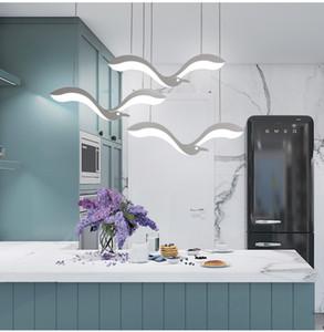الإبداع الحديثة أدى أضواء قلادة الثريا ل دينينجروم مطبخ الجبهة مكتب تعليق الإنارة suspendu led الثريا