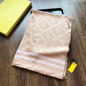 Sciarpa di marca di moda designer di lusso primavera e autunno sciarpa signora materiale di cotone di seta con filo d'oro sottile morbido e confortevole 180 * 90 cm