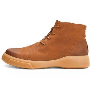 Venta-2019 Hot nieve caliente invierno botas de los hombres con zapatos de trabajo Calzado de goma Ankl