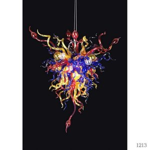 Superior Quality Italian Mouth Blown Glass Chandelier Lightings Modern Kitchen New House Decoration Hand Blown Glass Chandelier Lighting