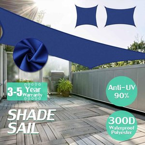 2,5x2,5 3x3 4x4 2x3 2x4 2x5 2.5x3 3x4 3x5 3x6 2x2 2x5 Royal Blue 300D Polyester Tissu Oxford Place Rectangle Voile d'ombrage