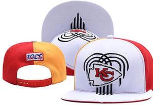 2020 Высочайшее качество Дешевые шапки Snapback Взрослый классический Письмо кости Футбольная кепка Салют для обслуживания Kansas City Hats KC Baseball CaP 01