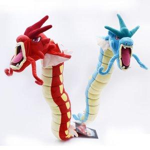 Free Shipping 2 Styles Peluche Gyarados BLUE RED Animal 60CM Plush Toys Doll Birthday Festival Gift For Kids Y200703