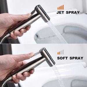 Bide Püskürtme Hortum Paslanmaz Çelik Kolay Yükleme Büyük ile Tuvalet El Bezi Bezi Püskürtme Banyo Püskürtme Kiti Sprey Eki için