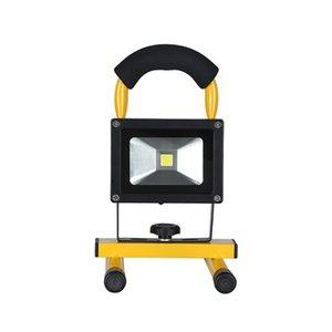 Holofotes recarregáveis portáteis de LED, Luz de inundação de emergência, Luzes de acampamento ao ar livre, Lâmpada de trabalho móvel, Luz de aviso à prova d'água