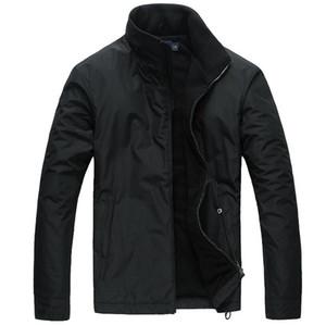 2019 새로운 PP6805 봄 남자의 양털 재킷 따뜻한 후드 코트 열 두꺼운 겉옷 남성 군사 캐주얼 고딕 고스 남성 자켓