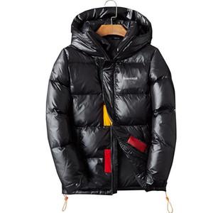 19SS DesignerJackets Winterjacke Ente Daunenjacke Herren Weiße Ente Daunenjacke mit Pullover Schwarz Blaus beiläufige Persönlichkeit starken warmen