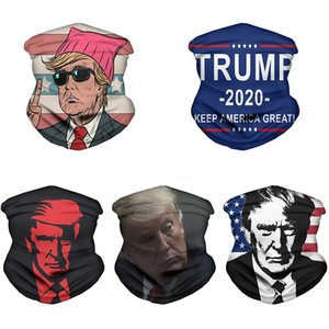 Trump Mask Outdoor Riding Mask 2020 Trump Magic Turban Us Presidential Election Cover Face Mask XD23578