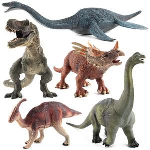 Natal Dinossauro Jurássico Série Serpente Pescoço Dragão Tiranossauro Estática Dinossauro Brinquedo Modelo de Simulação Modelo Educação